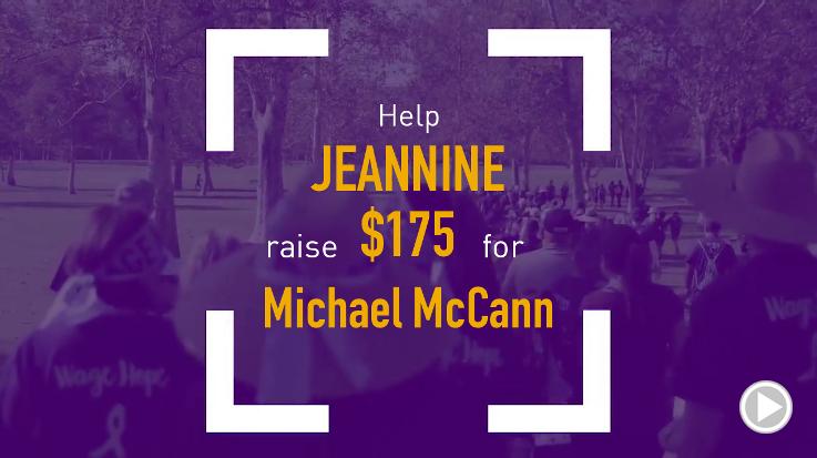 Help Jeannine raise $175.00