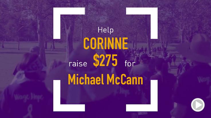 Help Corinne raise $275.00