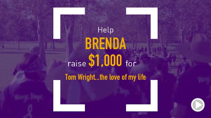 Help Brenda raise $1,000.00