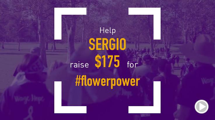 Help Sergio raise $175.00