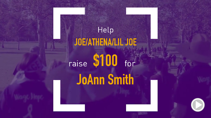 Help Joe/Athena/Lil Joe raise $100.00