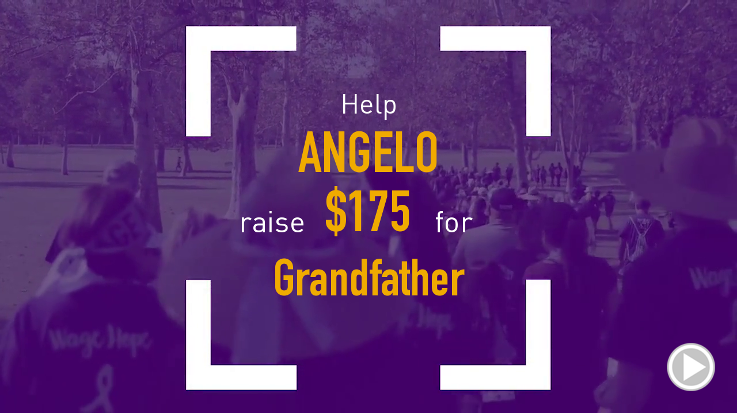 Help Angelo raise $175.00
