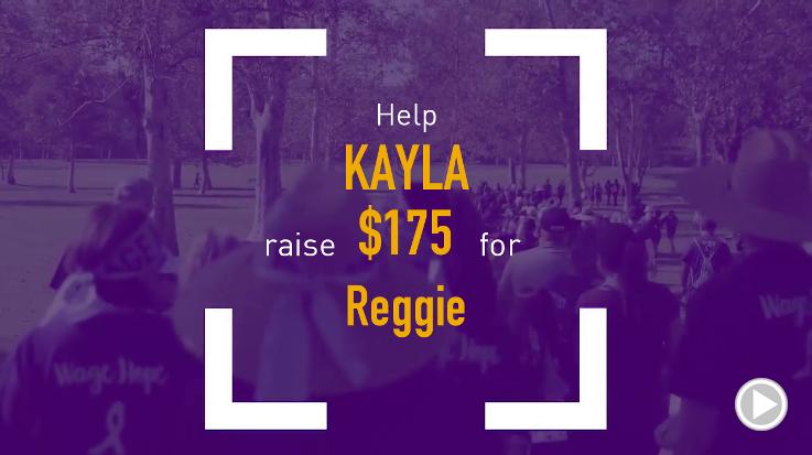 Help Kayla raise $175.00