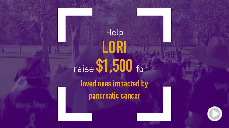 Help Lori raise $1,500.00