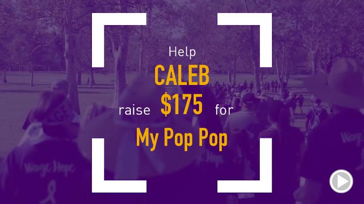 Help Caleb raise $175.00