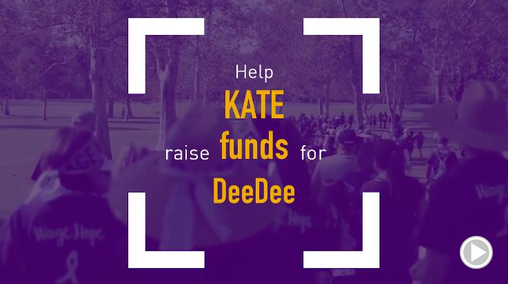 Help Kate raise $0.00