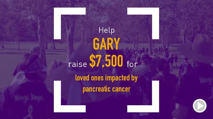 Help Gary raise $7,500.00