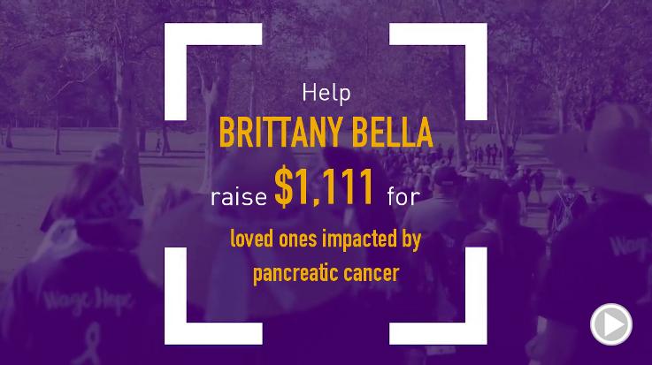 Help Brittany Bella raise $1,111.00