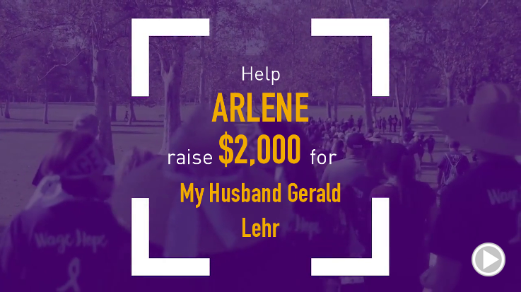 Help Arlene raise $2,000.00