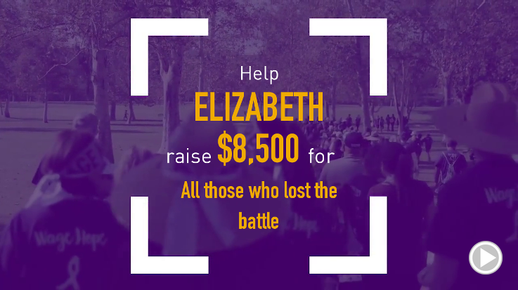 Help Elizabeth raise $8,500.00