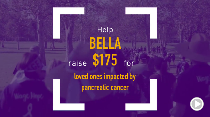 Help Bella raise $175.00