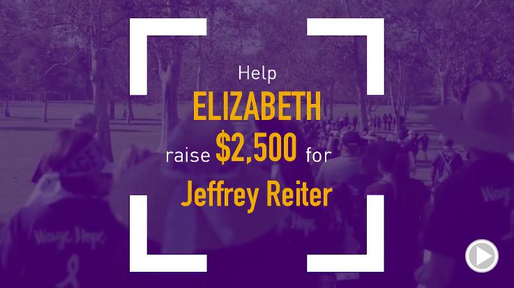 Help Elizabeth raise $2,500.00