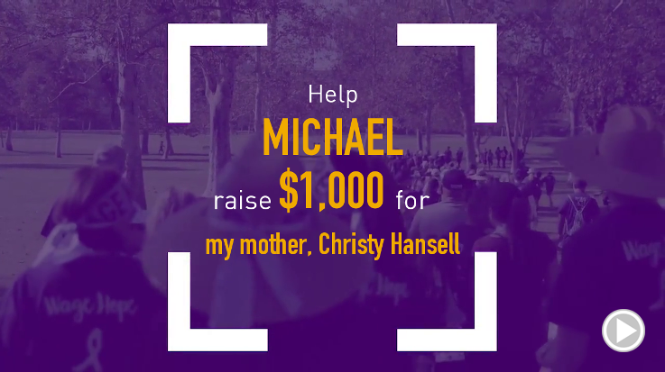 Help Michael raise $1,000.00