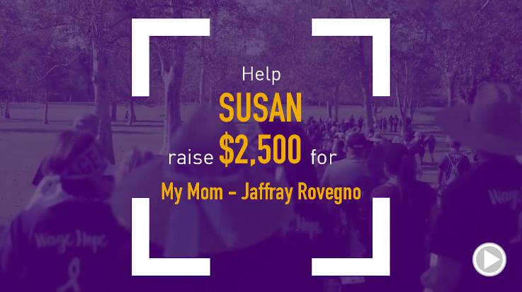 Help Susan raise $2,500.00