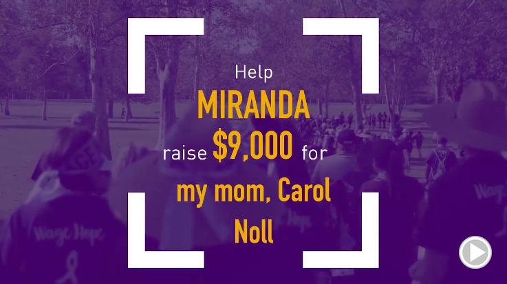 Help Miranda raise $9,000.00