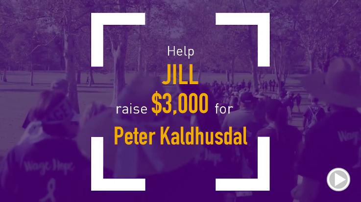Help Jill raise $3,000.00