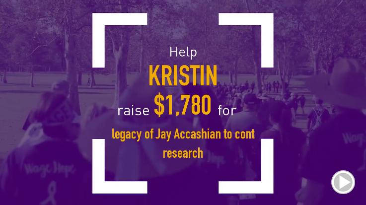 Help Kristin raise $1,780.00