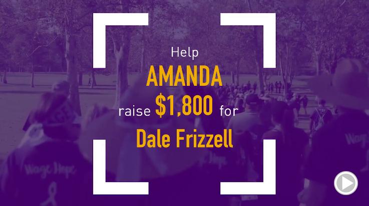 Help Amanda raise $1,800.00