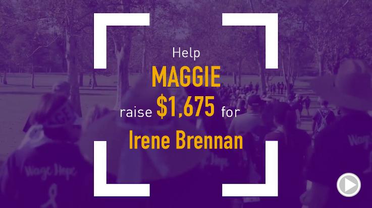 Help Maggie raise $1,675.00