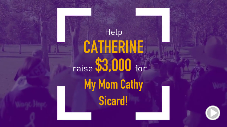 Help Catherine raise $3,000.00