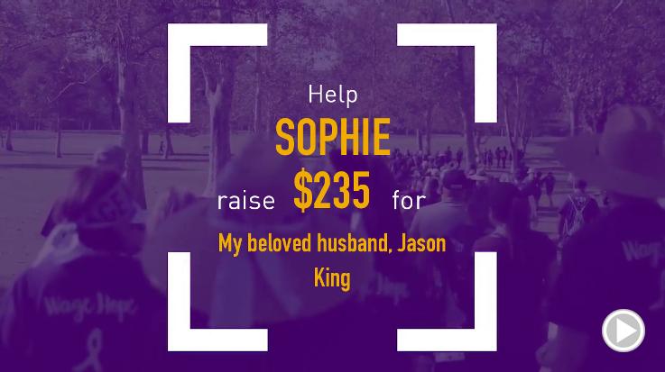 Help Sophie raise $235.00