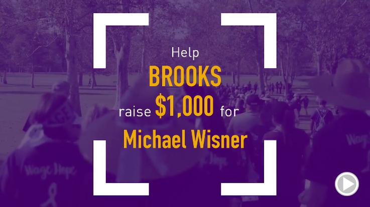 Help Brooks raise $1,000.00