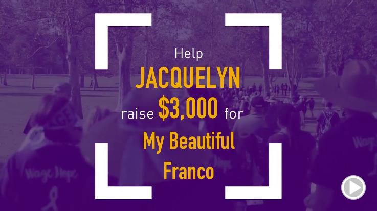 Help Jacquelyn raise $5,000.00