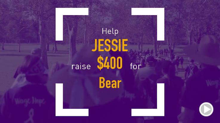 Help Jessie raise $200.00
