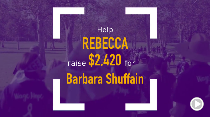 Help Rebecca raise $2,420.00