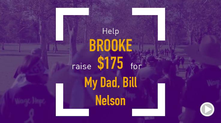 Help Brooke raise $175.00