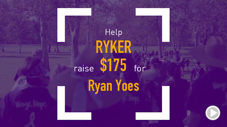 Help Ryker raise $175.00