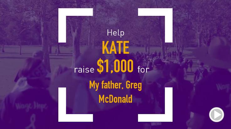Help Kate raise $175.00