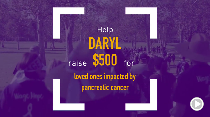 Help Daryl raise $500.00