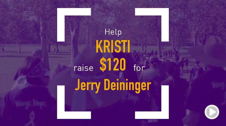 Help Kristi raise $120.00