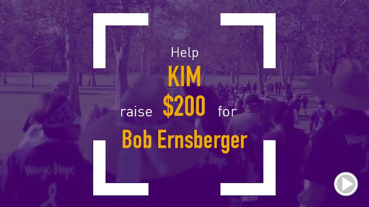 Help Kim raise $200.00