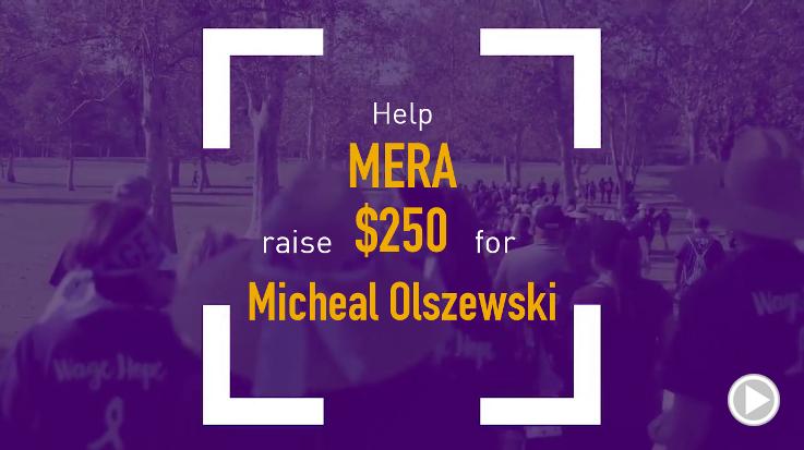 Help Mera raise $250.00
