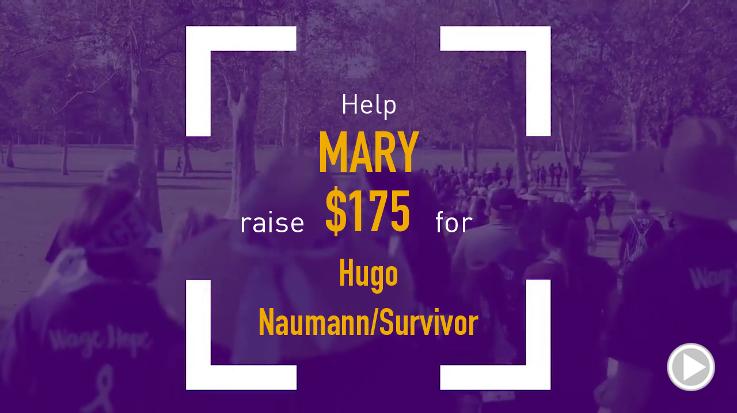Help Mary raise $175.00