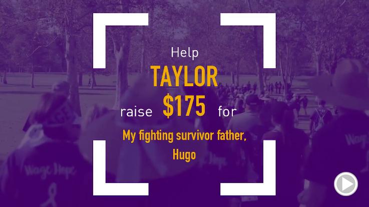 Help Taylor raise $175.00