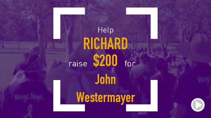 Help Richard raise $200.00