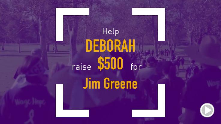 Help Debby raise $500.00