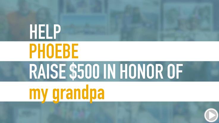 Help Phoebe raise $500.00